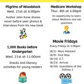 August @ the Seabrook Library