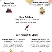 September @ the Seabrook Library