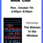 October Book Club: The Woman in the Window
