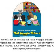 """""""Tail Waggin' Tutor"""" Important Message!!!"""