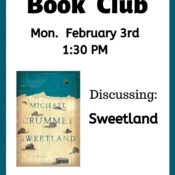 February Book Club – Mon 3rd @ 1:30